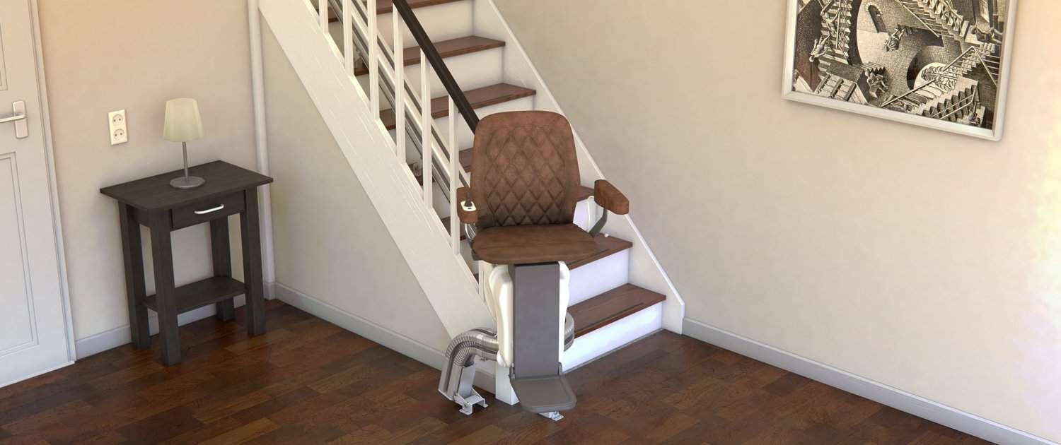 UPstairlift Curved
