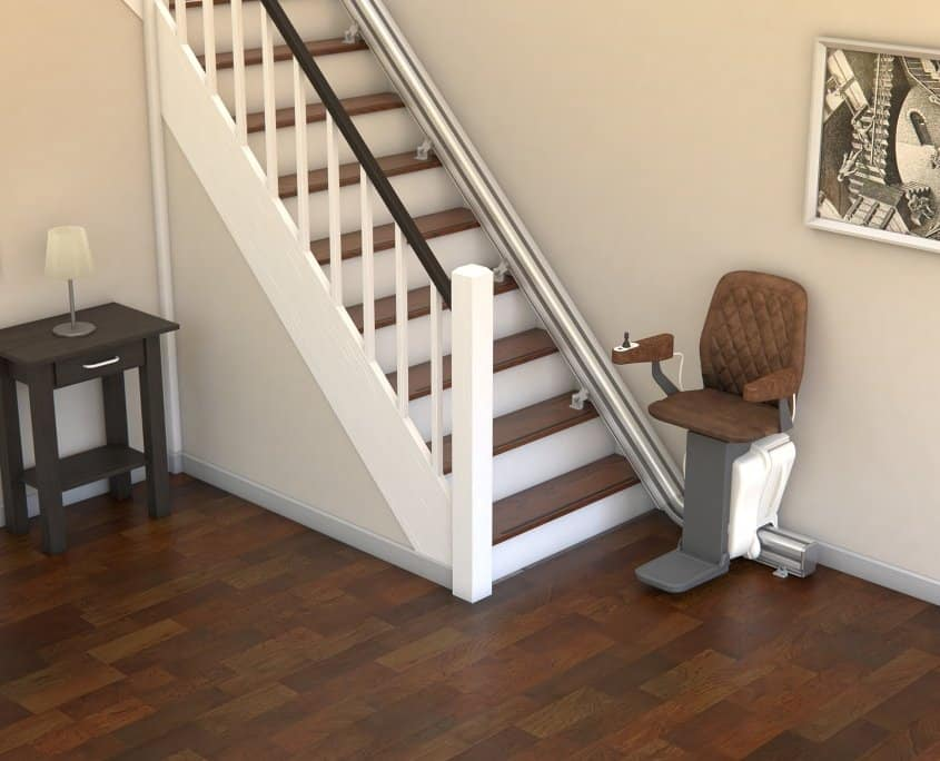 UPstairlift Straight rail