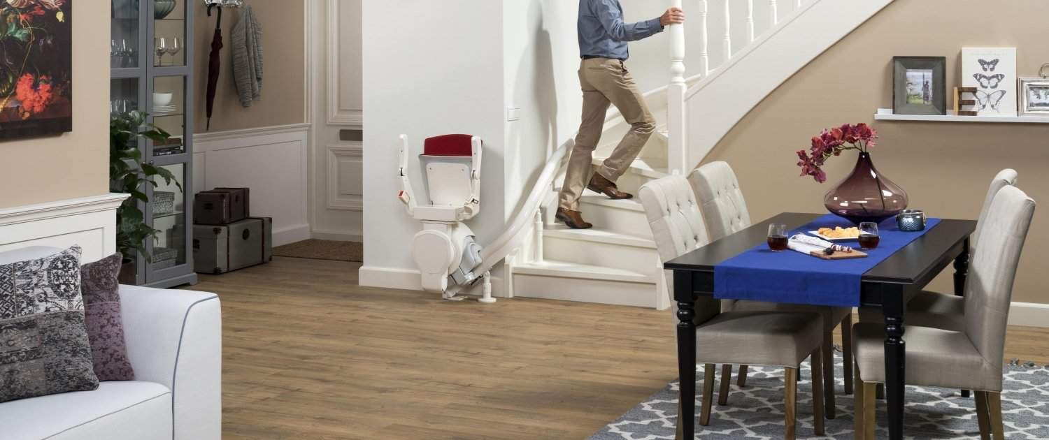 straight & curved stairlift